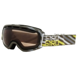 Giro Basis Snowsport Goggles in Tank Offset/Amber Rose