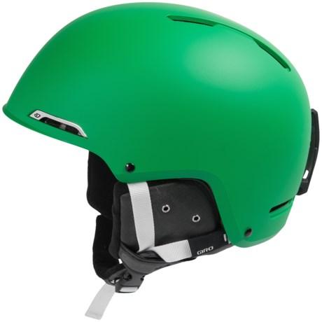 Giro Battle Snowsport Helmet in Matte Green