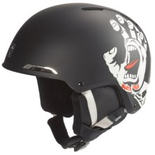 Giro Battle Snowsport Helmet in Santa Cruz Screaming Hand - Closeouts