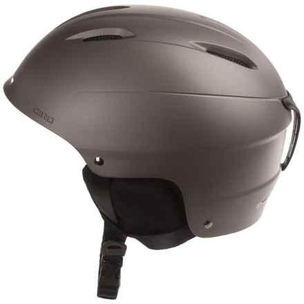 Giro Bevel Ski Helmet in Matte Titanium - Closeouts