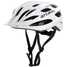 Giro Bishop Bike Helmet - Extra Large (For Men and Women) in Matte White/Silver - Closeouts