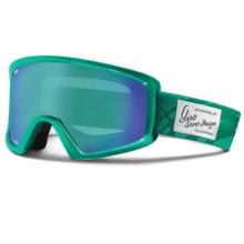 Giro Blok Flash Snowsport Goggles in Dynasty Green Aloha/Loden Dynasty - Closeouts