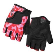 Giro Bravo Jr. Bike Gloves - Fingerless (For Big Kids) in Pink/Black - Closeouts