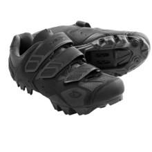 Giro Carbide Mountain Bike Shoes - SPD (For Men) in Black/Charcoal - Closeouts