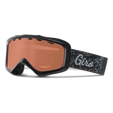Giro Charm Ski Goggles (For Women) in Black Filigree/Ar40 - Closeouts