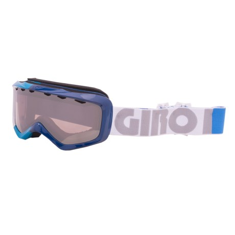 Giro Charm Snowsport Goggles (For Women) in Blue Color Block/Rose Silver 30
