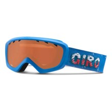 Giro Chico Ski Goggles (For Big Kids) in Blue Icee/Ar40 - Closeouts