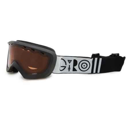 Giro Chico Ski Goggles (For Little Kids) in Black Geometric/Amber Rose - Closeouts