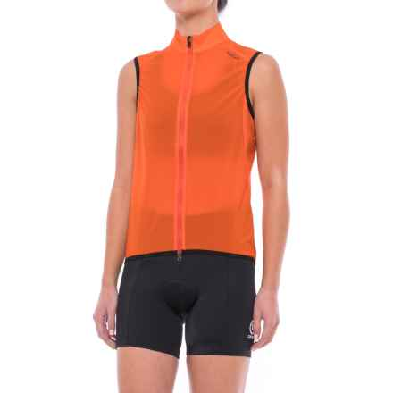 Giro Chrono Cycling Vest (For Women) in Flame Orange - Closeouts
