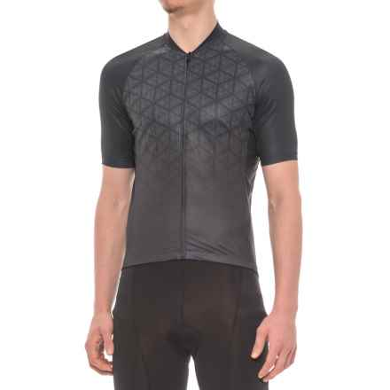 Giro Chrono Expert Cycling Jersey - Short Sleeve (For Men) in Black Boxfish - Closeouts