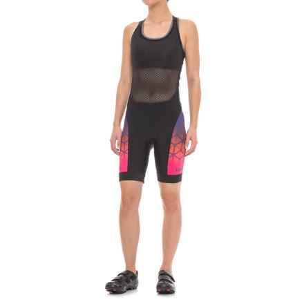 Giro Chrono Expert Halter Cycling Bib Shorts - UPF 50+ (For Women) in Ultraviolet Boxfish - Closeouts