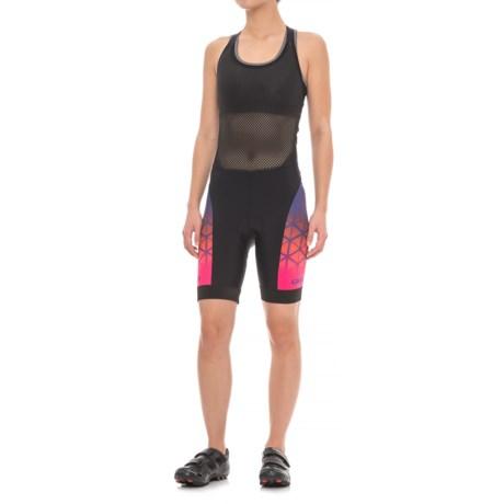 Giro Chrono Expert Halter Cycling Bib Shorts - UPF 50+ (For Women) in Ultraviolet Boxfish