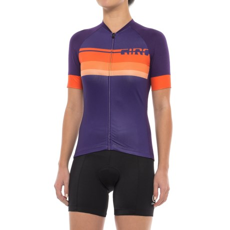 Giro Chrono Expert Jersey - Full Zip, Short Sleeve (For Women) in Fade Purple
