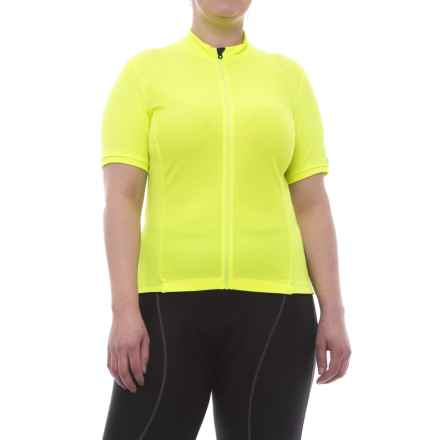 Giro Chrono Sport Cycling Jersey - Short Sleeve (For Women) in Highlight Yellow - Closeouts