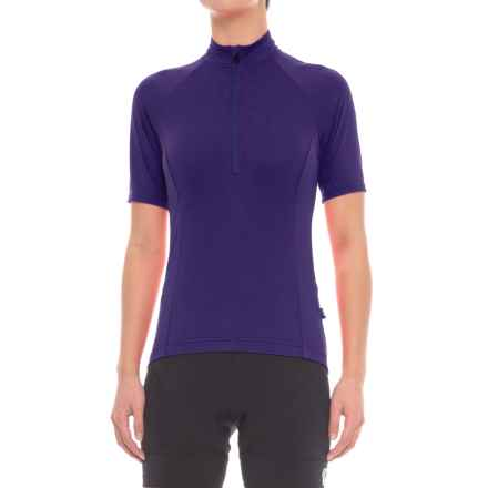 Giro Chrono Sport Cycling Jersey - UPF 20+, Short Sleeve (For Women) in Ultraviolet - Closeouts