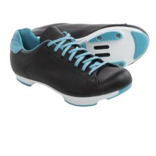Giro Civila Cycling Shoes - SPD (For Women) in Black/White/Milky Blue - Closeouts