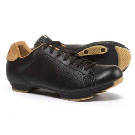 Giro Civila Road Cycling Shoes - SPD (For Women) in Black/Gum - Closeouts