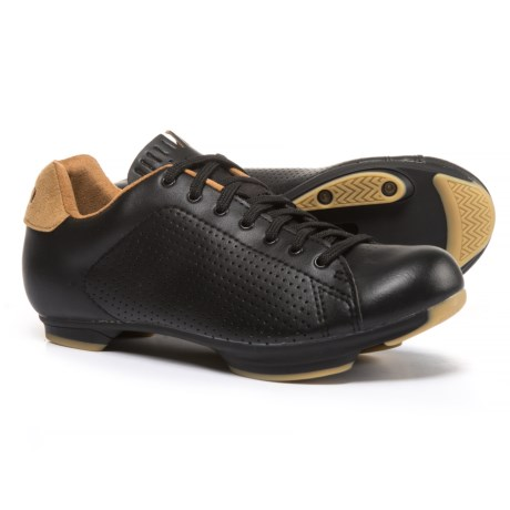 Giro Civila Road Cycling Shoes - SPD (For Women) in Black/Gum