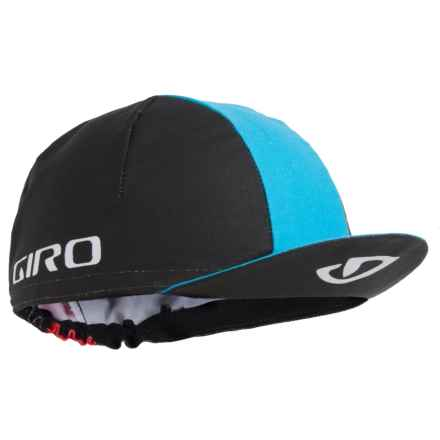 Giro Classic Cycling Cap (For Men and Women) in Black/Blue Jewel/Glowing Red - Closeouts