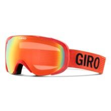 Giro Compass Flash Ski Goggles in Glowing Red Monotone/Persimmon Blaze - Closeouts