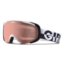 Giro Compass Ski Goggles - Polarized in White 50-50/Rose - Closeouts