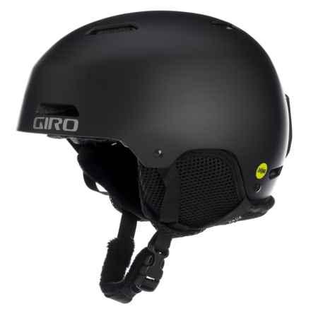 Giro Crue MIPS Ski Helmet (For Little and Big Kids) in Matte Black - Closeouts