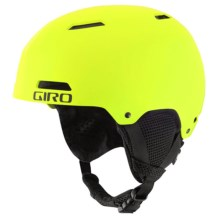 Giro Crue Ski Helmet (For Little and Big Kids) in Hightlight Yellow - Closeouts