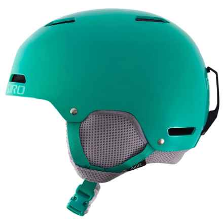 Giro Crue Ski Helmet (For Little and Big Kids) in Turquoise - Closeouts