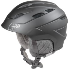 Giro Decade Snowsport Helmet (For Women) in Matte Titanium Cable Knit - Closeouts