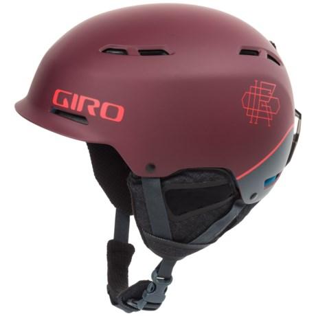 Giro Discord Ski Helmet in Matte Maroon