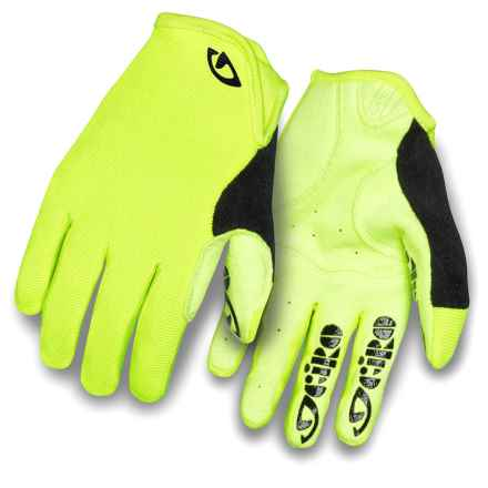 Giro DND Cycling Gloves (For Kids and Youth) in Hilight Yellow - Closeouts