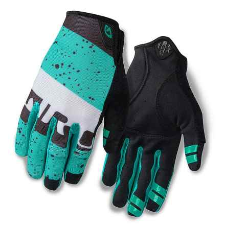 Giro DND Cycling Gloves (For Men) in Turquoise/Black - Closeouts