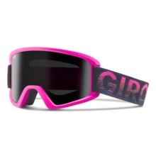 Giro Dylan Flash Ski Goggles (For Women) in Magenta Poncho/Black Limo - Closeouts