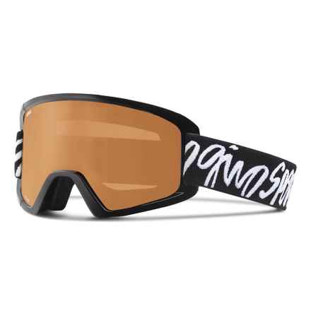 Giro Dylan Ski Goggles (For Women) in Black Script/Ar40 - Closeouts