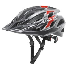 Giro E2 Bike Helmet in Gun Metal / Red - Closeouts