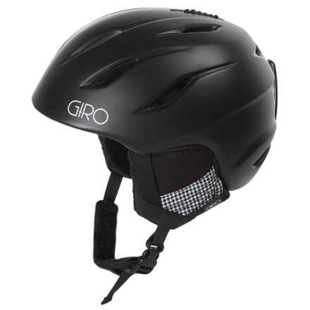Giro Era MIPS Ski Helmet (For Women) in Matte Black Houndstooth - Closeouts