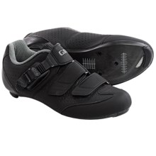 Giro Espada E70 Road Cycling Shoes - 3-Hole (For Women) in Black/Silver - Closeouts