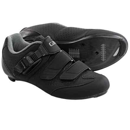 Giro Espada E70 Road Cycling Shoes - 3-Hole (For Women) in Black/Silver - Closeouts