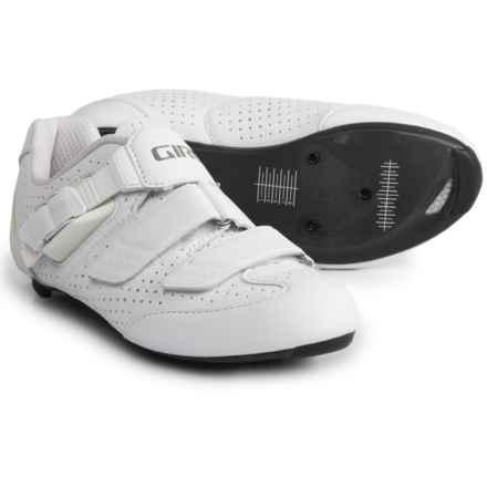 Giro Espada E70 Road Cycling Shoes - 3-Hole (For Women) in White - Closeouts