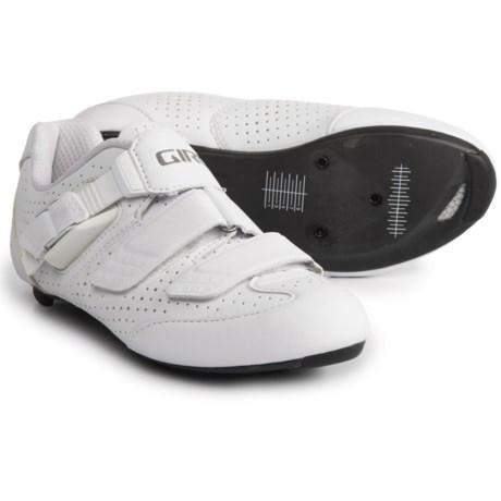 Giro Espada E70 Road Cycling Shoes - 3-Hole (For Women) in White