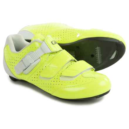 Giro Espada Road Cycling Shoes - 3-Hole (For Women) in Highlight Yellow/White - Closeouts