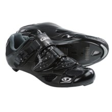 Giro Espada Road Cycling Shoes - 3-Hole (For Women) in Patent Black/Silver - Closeouts
