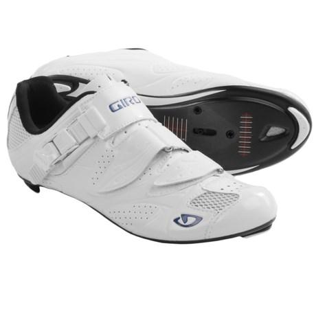Giro Espada Road Cycling Shoes - 3-Hole (For Women) in White/Blue