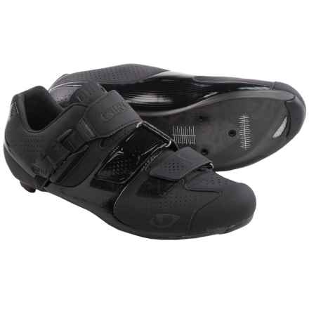 Giro Factor ACC Cycling Shoes - 3-Hole (For Men) in Matte Black/Gloss Black - Closeouts