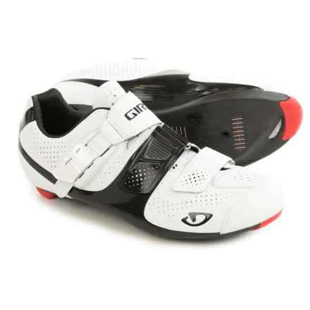 Giro Factor ACC Cycling Shoes - 3-Hole (For Men) in Matte White/Black - Closeouts