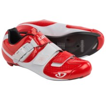 Giro Factor ACC Cycling Shoes - 3-Hole (For Men) in Red/White - Closeouts