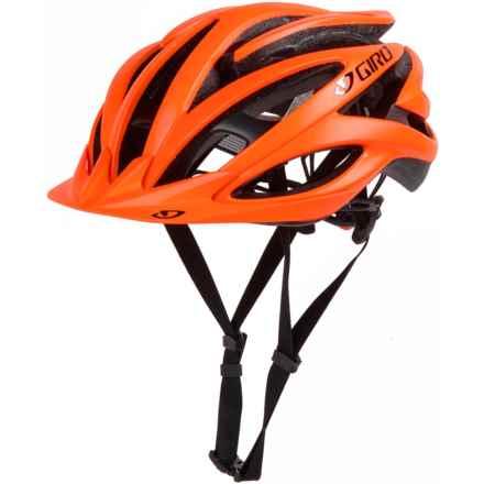 Giro Fathom Bike Helmet (For Men and Women) in Matte Flame/Titanium - Closeouts