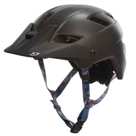 Giro Feather Bike Helmet - MIPS (For Women) in Matte Black Galaxy - Closeouts