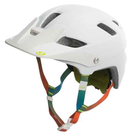 Giro Feather Bike Helmet - MIPS (For Women) in Matte White/Lime - Closeouts