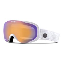 Giro Field Flash Ski Goggles (For Women) in White Nordic/Persimmon Boost - Closeouts